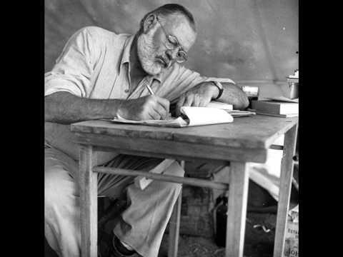 Ernest Hemingway Speaks