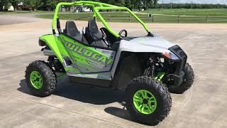 6. Country Cat - 2017 Arctic Cat Wildcat Sport Limited EPS Walk Around