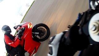 8. Ducati 899 Panigale VS Yamaha R6S + Pissed off Semi