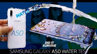 Samsung Galaxy A50 Waterproof Test🌡️🧜🏻♀️ - ALMOST VERY GOOD👌🏼