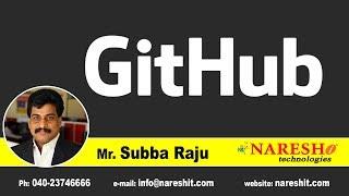 Introduction to Git and GitHub | Mr. Subba Raju