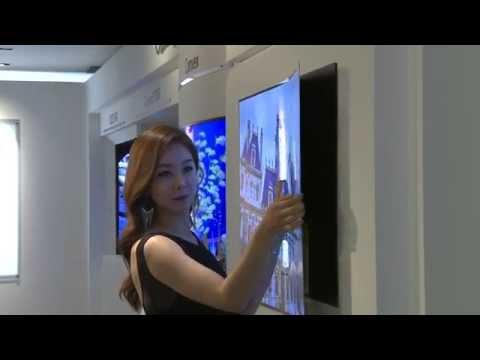 LG Display OLED Wallpaper TV (long)