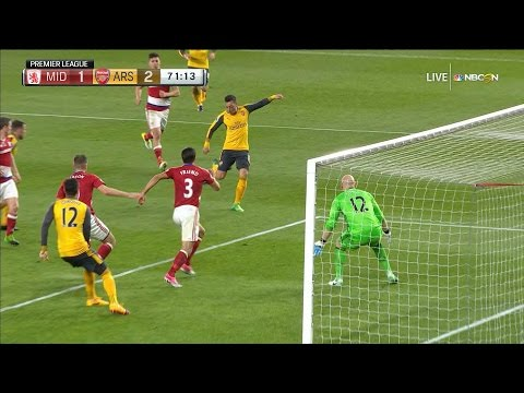 Video: Mesut Ozil puts Arsenal back in front