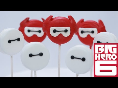 BIG HERO 6 BAYMAX OREO POPS – NERDY NUMMIES