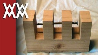 Impossible nail-through-wood trick.