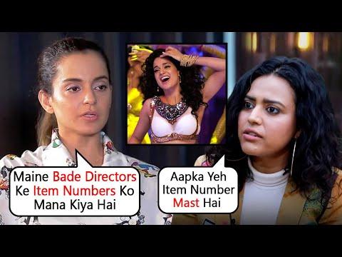 Kangana Ranaut Angry Reaction After Swara Bhaskar Shares Her Item Number From Rajjo
