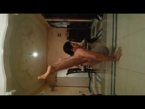 Contortion, extreme frontbend training