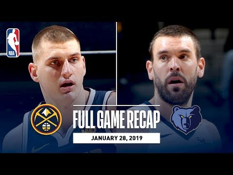 Video: Full Game Recap: Nuggets vs Grizzlies | Denver's Remarkable 25-Point Comeback