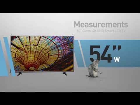 LG 60UH6150 4K UHD Smart LED TV - 60
