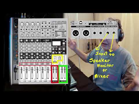MIXER OUTPUTS explained