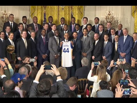 President Honors our Champion Golden State Warriors