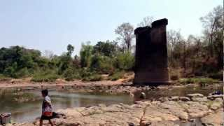 Salavan Laos  city photos : Prince Souphanouvong Bridge near Salavan, Laos