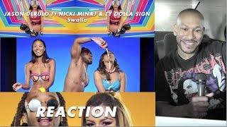 Jason Derulo  Swalla Feat Nicki Minaj & Ty Dolla $ign Official Music Video Reaction/review