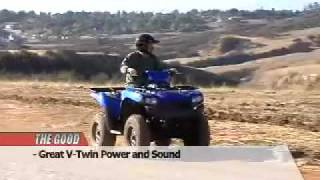 8. ATV Television Test - 2007 Kawasaki Brute Force 750