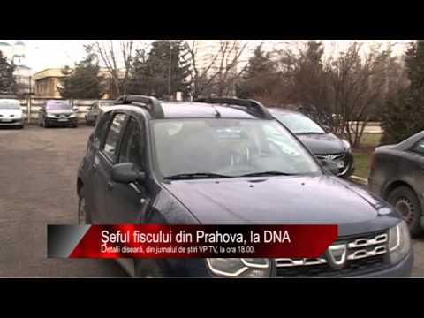 Diseară la știri VP TV: Şeful fiscului din Prahova, la DNA