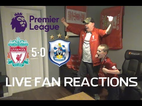 Liverpool 5-0 Huddersfield, Friday April 26th 2019 LIVE Fan Reactions