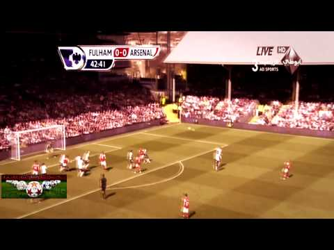 Fulham Vs. Arsenal 0-1 20/4/13 All Goals And Highlights HD