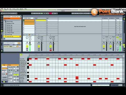 Ableton Live Tutorial - Juke Beat with 808 Drum Kit