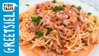 Pasta with BROWN SHRIMP | Bart's Fish Tales by Bart's Fish Tales