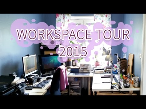 Workspace tour 2015 (видео)