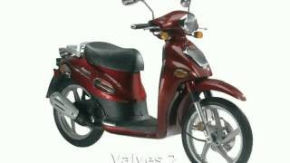 1. 2007 KYMCO People S 125 Details and Specification