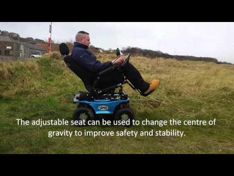 Chasswheel Urban X All Terrain 4x4 Powerchair