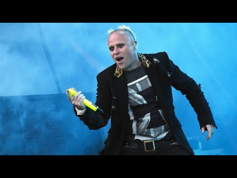 Keith Flint, Frontmann der Band »The Prodigy«, ist  ...