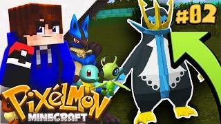 PIXELMON EVOLUTION GLITCH?! | Minecraft Cube PIXELMON SMP! #2 (Minecraft Pokemon)