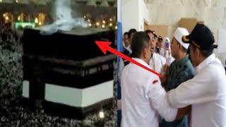 Video Jemaah Haji Indonesia Tiba² Histeris Melihat Malaikat Jibril di Ka'bah !! Subhanallah.. MP3, 3GP, MP4, WEBM, AVI, FLV September 2017