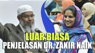 Video Penjelasan LOGIS Dr. Zakir Naik Membuat WANITA HINDU Ini MASUK ISLAM MP3, 3GP, MP4, WEBM, AVI, FLV Juni 2019