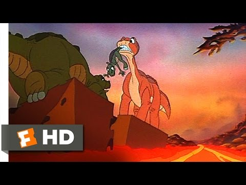 The Land Before Time (8/10) Movie CLIP - Littlefoot To The Rescue (1988) HD