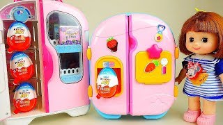 Video Baby doll refrigerator toys and surprise eggs mart toys play MP3, 3GP, MP4, WEBM, AVI, FLV Agustus 2018