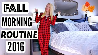 FALL MORNING ROUTINE 2016 by Channon Rose