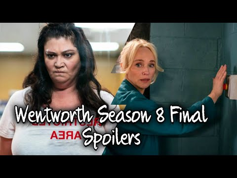 Wentworth Season 8 - Episode 10 Spoilers (Season Final)