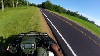 8. Honda Foreman Riding | TOP SPEED RUN