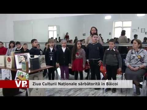 Ziua Culturii Naționale sărbătorită în Băicoi
