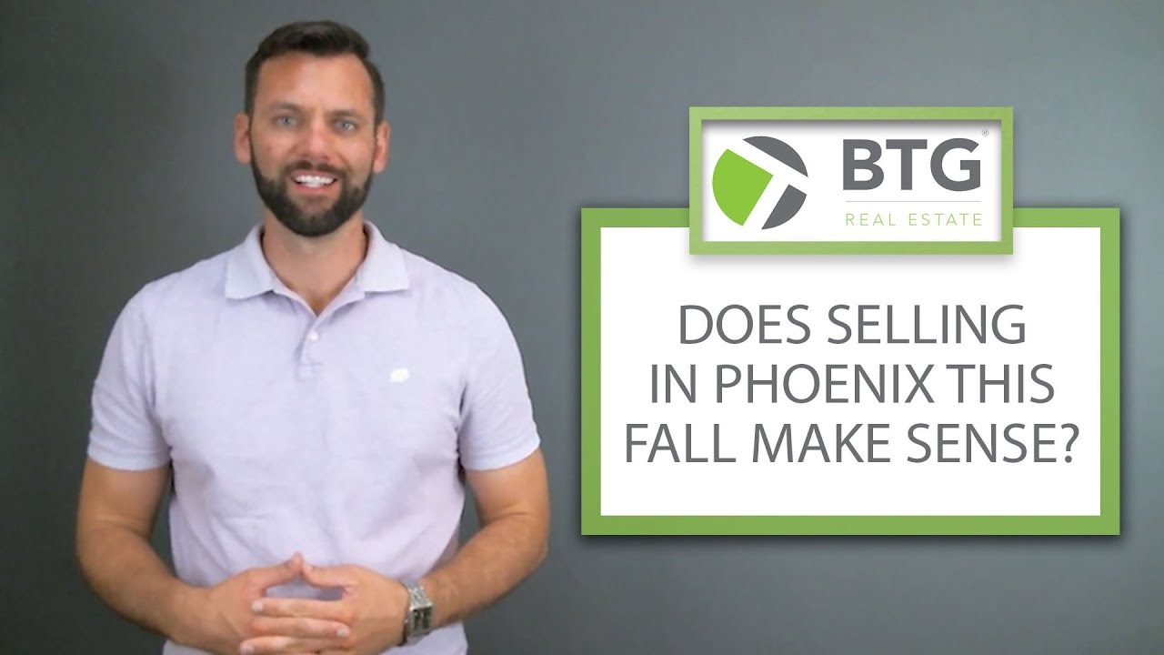 Why You Should Consider Selling in Phoenix This Fall