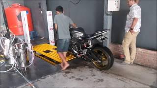 Cuci Motor Otomatis (TOUCHLESS) ,YAMAHA R6 ,600CC,PATEN, BISA TANPA USAP, Baca DiPublikas&LINK VIDEO