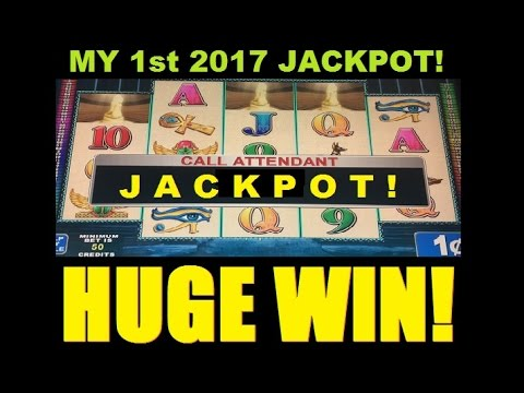 JACKPOT HANDPAY HUGE WIN 2017! SLOT MACHINE BONUS – Egyptian Sunset Slot Win! ~ DProxima