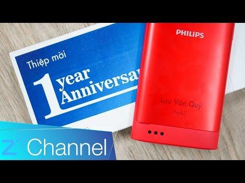 Philips S309 - Trên tay điện thoại kiêm 'thiệp mời' đặc biệt Philips S309