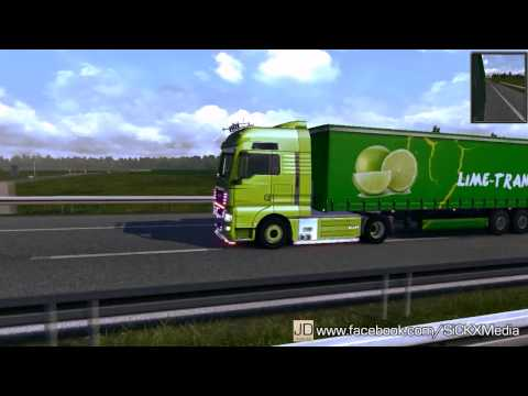 Grun Lime Trailer Skin