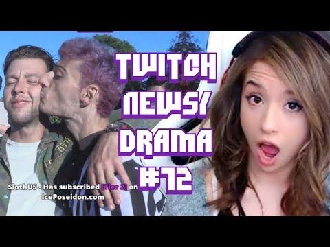 Twitch Drama/News #72 (Pokimane Vs MMG, Ice Poseidon Fights Hampton, Kalei Voldesad Banned)