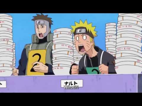 Shinobi Competition The Ichiraku Ramen Contest Hinata vs Naruto & Rest Naruto Shippuden Eng Sub HD