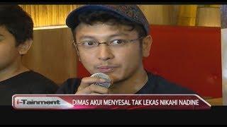 Video Dimas Anggara Mengaku Menyesal Menikah dengan Nadine Chandrawinata, Ada Apa ya? - i-Tainment 07/09 MP3, 3GP, MP4, WEBM, AVI, FLV September 2018