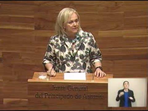 Intervención de Mercedes Fernández en el Pleno Institucional por el Día de Asturias