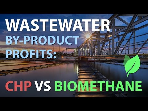 WASTEWATER BY-PRODUCT PROFITS - Biomethane vs CHP