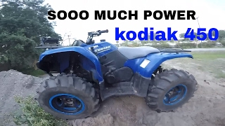 6. Motovlog II My new yamaha kodiak 450 4x4 II This thing is a beast II MV-12