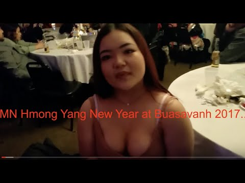 HMong Yang New Year at  Buasavanh 2017...Lom Zem Kawg