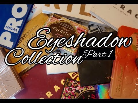 Make up - Makeup Collection Eyeshadows Part 1