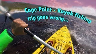 4. Cape Point - Kayak fishing trip gone wrong...